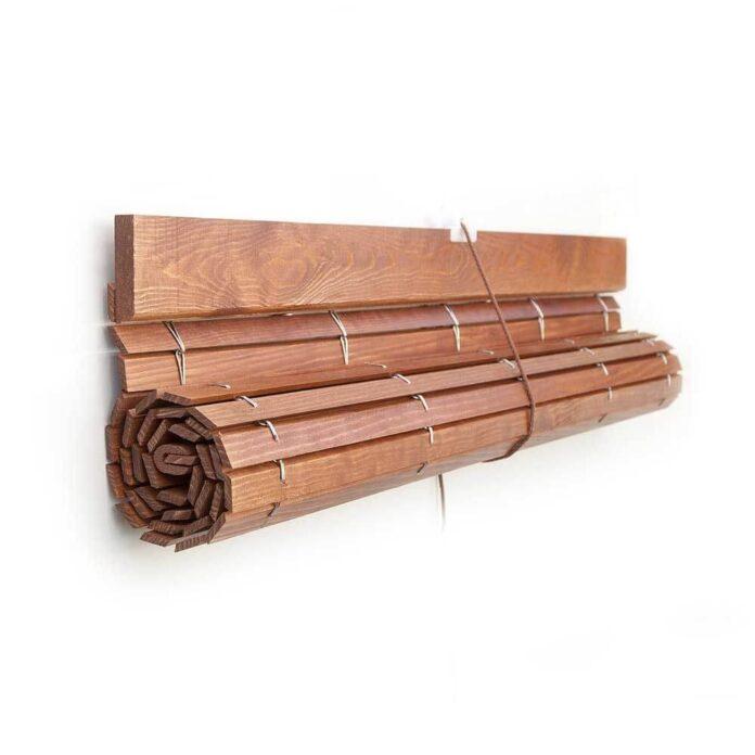 los tipos de persianas de madera y donde se pueden instalar