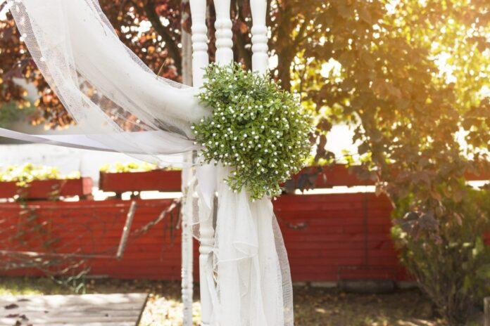 organizar boda en el jardin