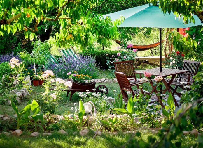 preparar el jardin del hogar